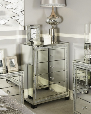 Acme Mirrored Chest