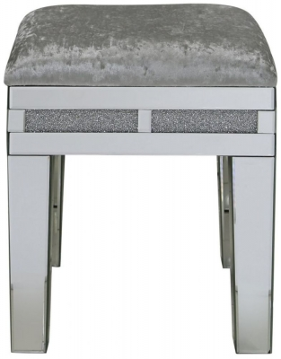 Acme Mirrored Stool