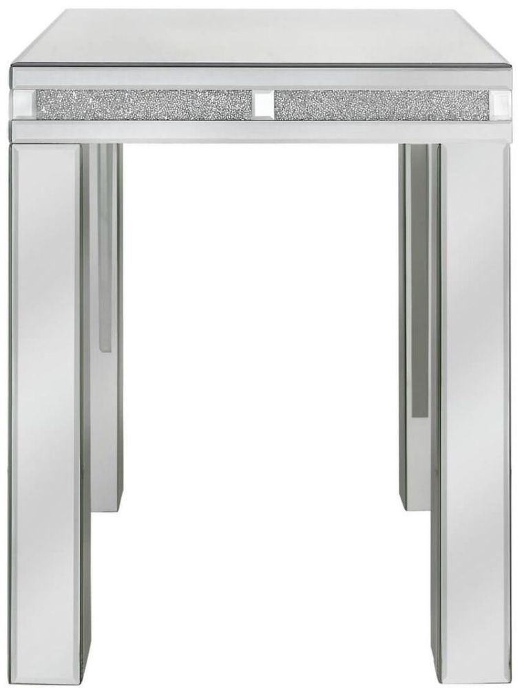 Acme Mirrored End Table