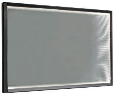 Avalon Smoked Mirrored Infinity Large Wall Light