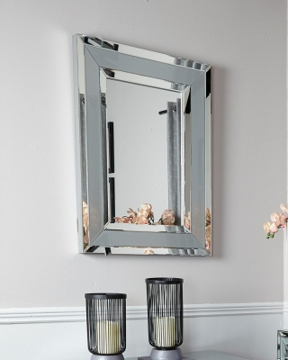 Boston Grey Wall Mirror