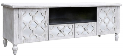 Catalina Beach Mirrored Entertainment Unit