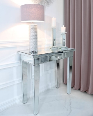 Charlotte Mirrored Console Table
