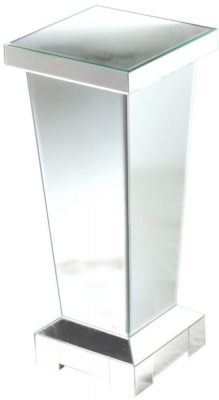 Charlotte Mirrored Small Pedestal