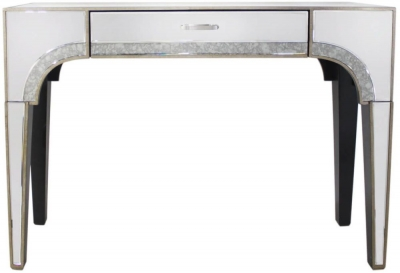 Durham Antique Mirrored Console Table