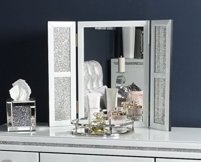 Easton White Vanity Mirror