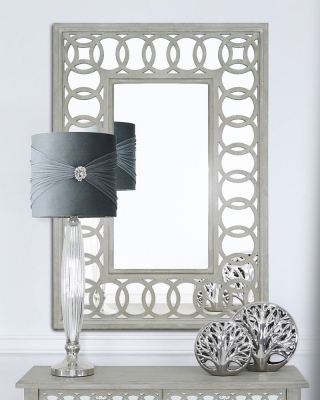 Farrah Mirrored Rectangular Wall Mirror