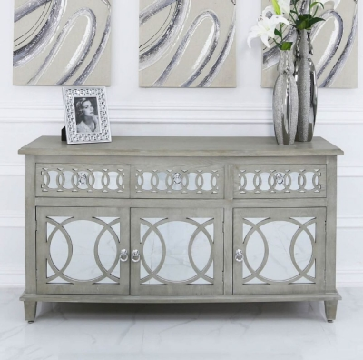 Farrah Mirrored Sideboard