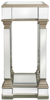 Grayton Champagne Mirrored Medium Telephone Table