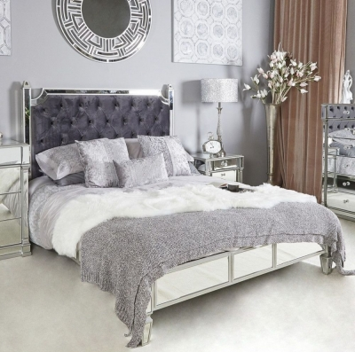Hamilton Mirrored 5ft King Size Bed