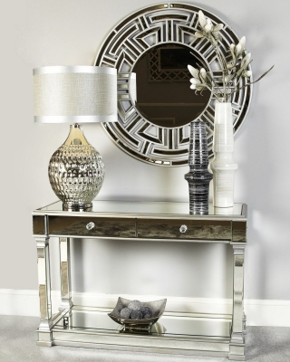 Hamilton Mirrored Console Table