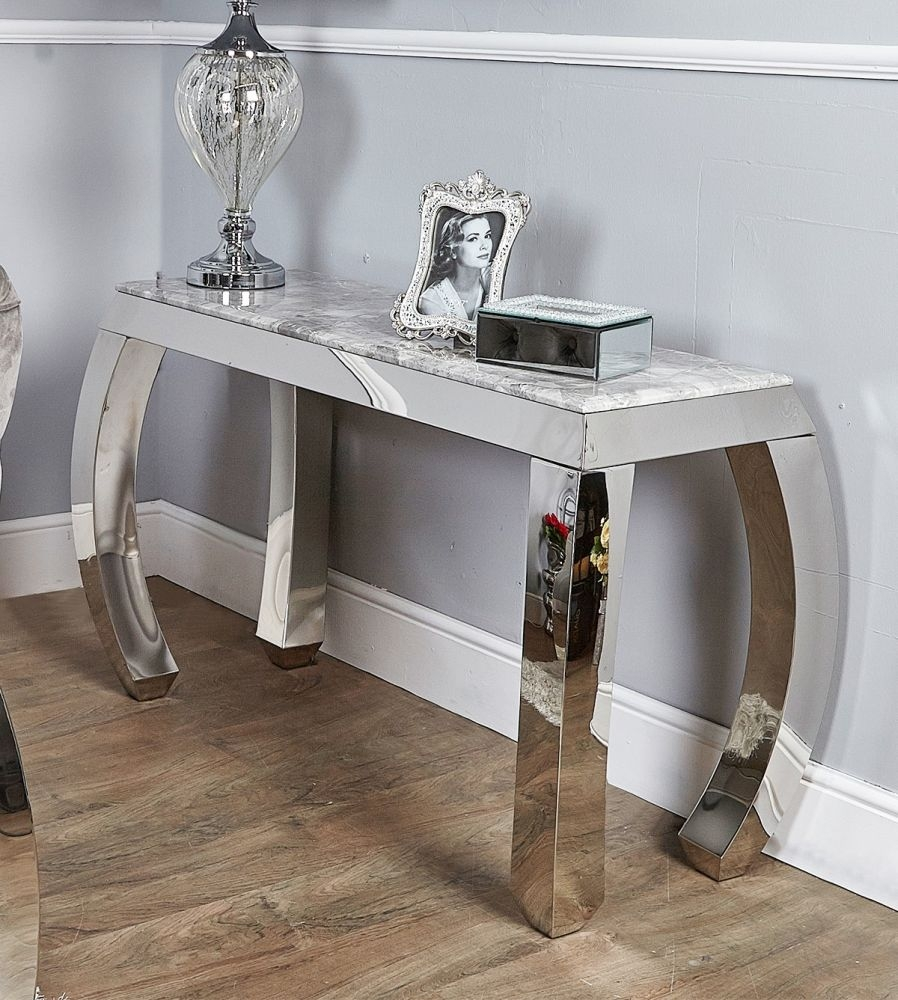 Mateo Marble Console Table