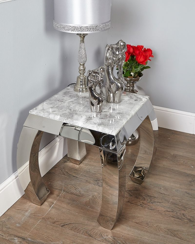 Mateo Marble End Table