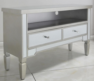 Shore Mirrored Entertainment Unit