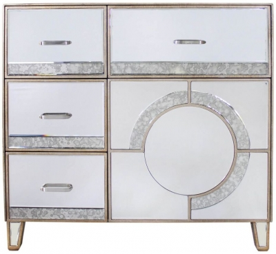 Zuo Mirrored Cabinet