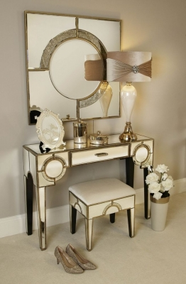 Zuo Mirrored Dressing Table