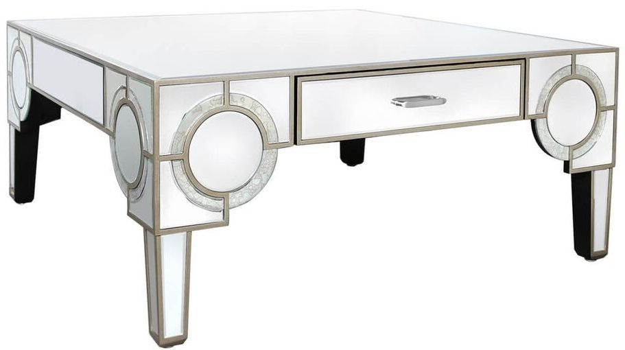 Zuo Mirrored Coffee Table