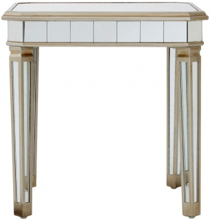 Denver Mirrored Side Table
