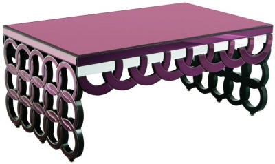 Madison Mirrored Coffee Table