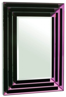 Madison Purple Rectangular Mirror