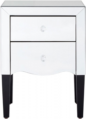 Orleans Mirrored Bedside Table