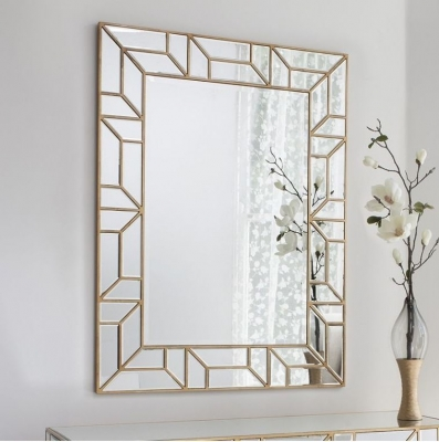 Columbus Rectangular Mirror - 89cm x 118cm