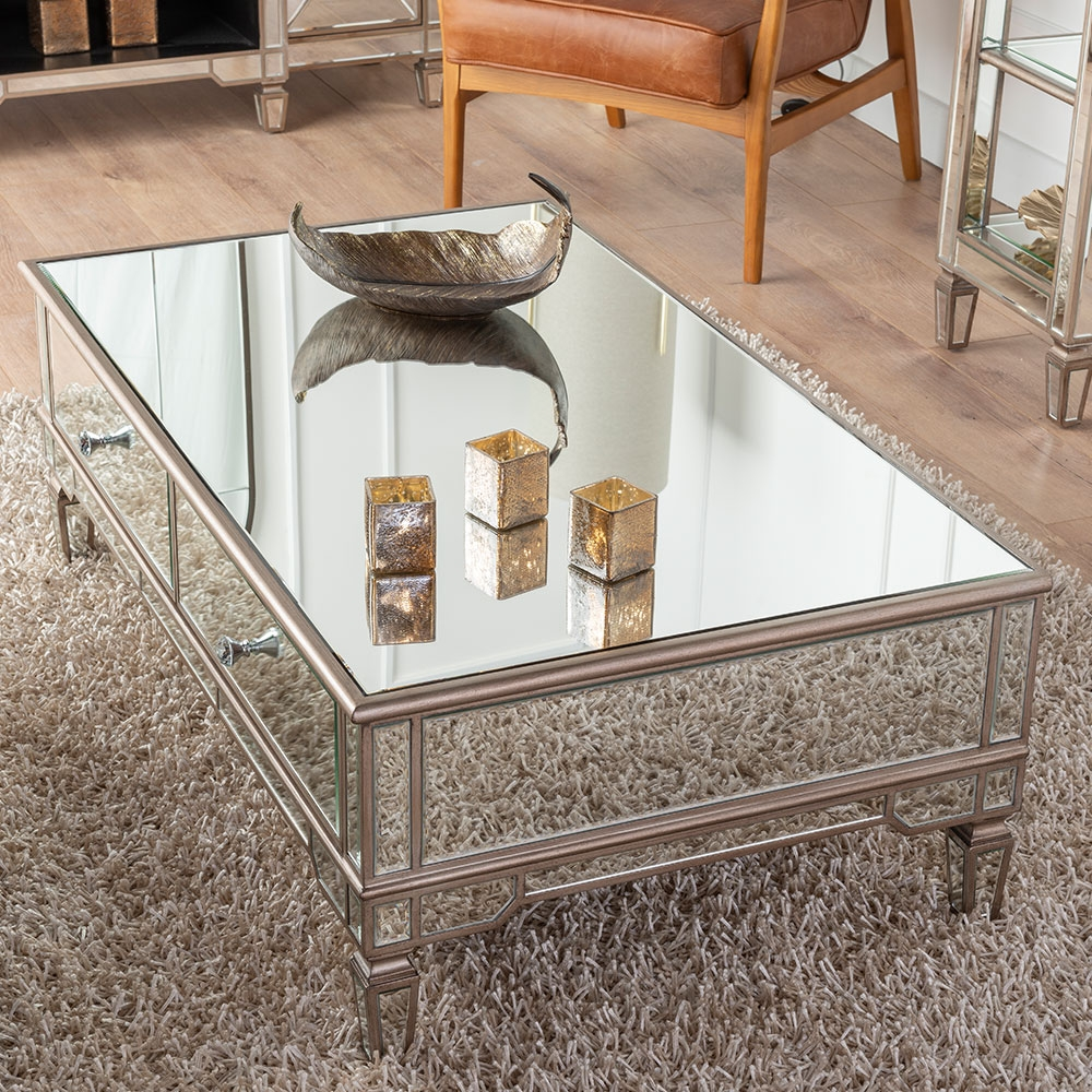 Urban Deco Antoinette Mirrored Coffee Table