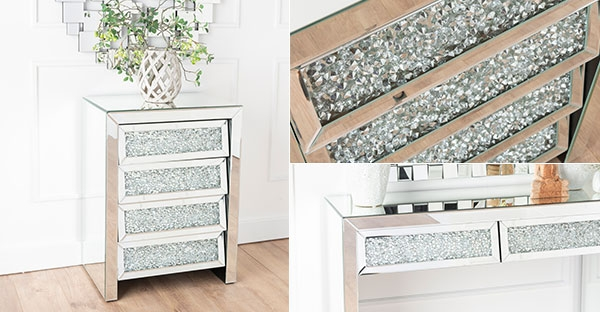 Urban Deco Crushed Diamond Mirrored