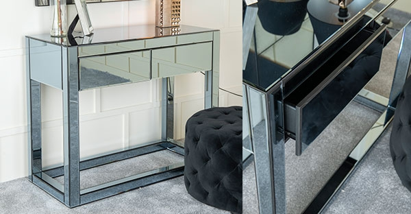 Urban Deco Moda Smoked Mirrored