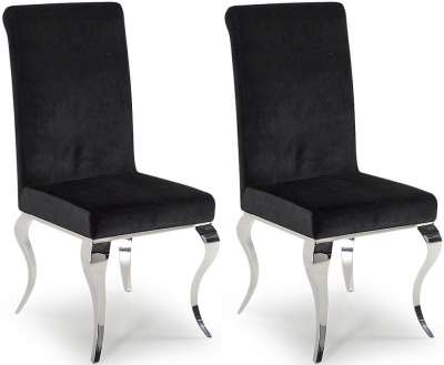 Boise Black Dining Chair (Pair)