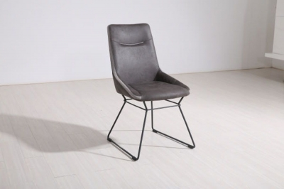 Florien Grey Dining Chair (Pair)