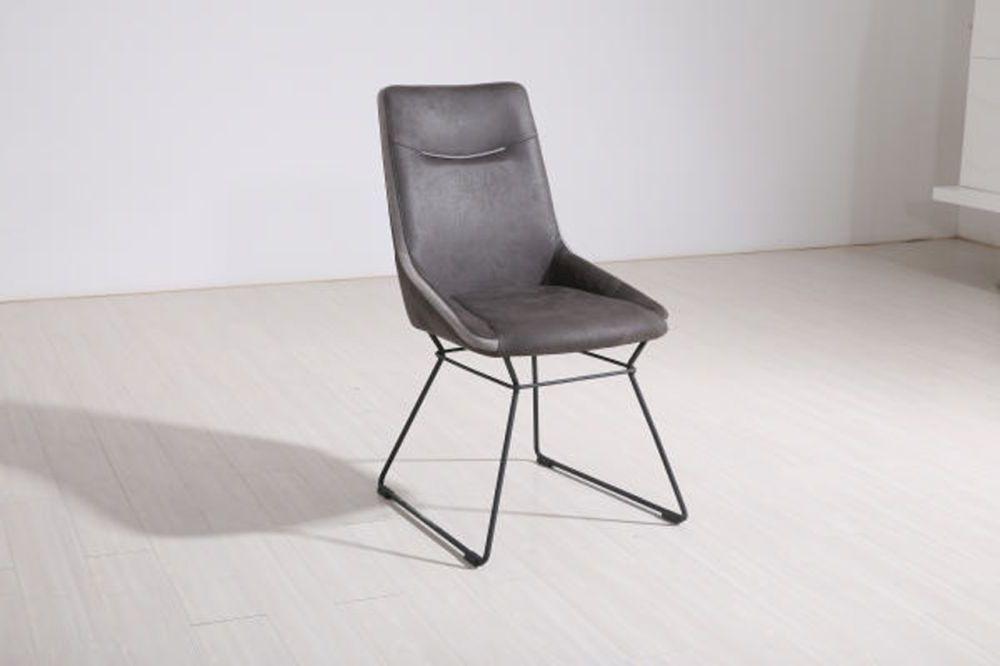 Florien Grey Dining Chair (Pair)