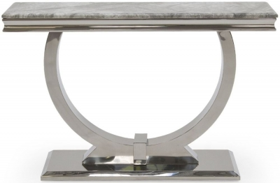 Tucson Grey Marble Console Table