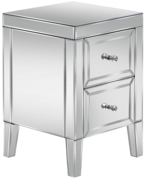 Coventry Mirrored Bedside Cabinet