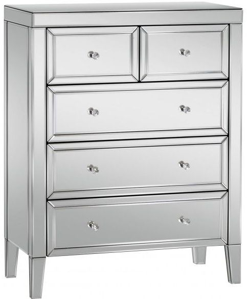 Coventry Mirrored 3+2 Drawer Chest