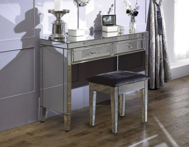Coventry Mirrored Stool