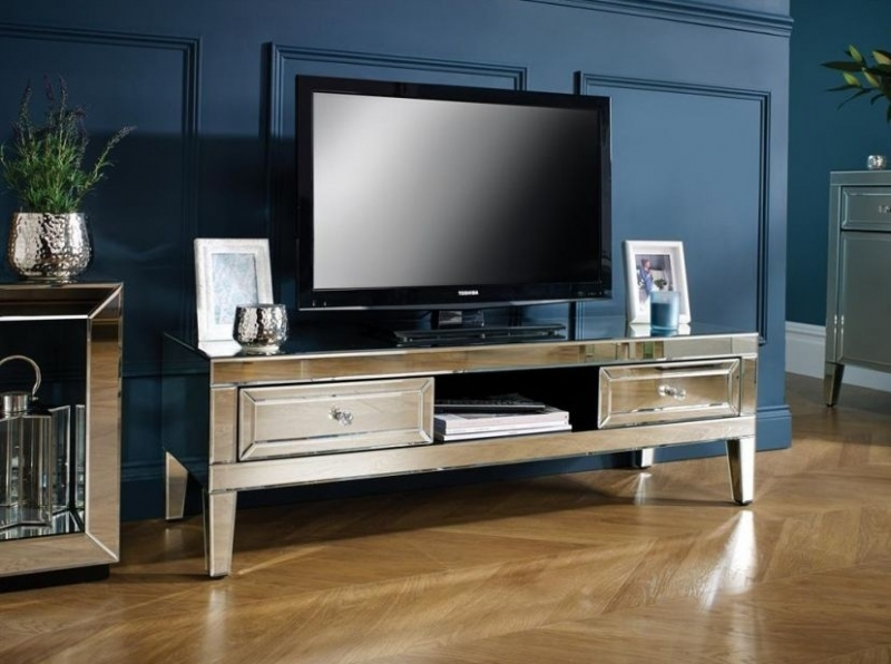 Coventry Mirrored TV Cabinet