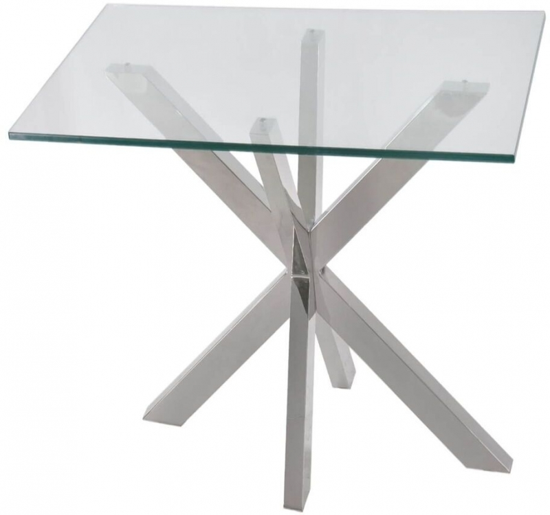 Willow Glass End Table