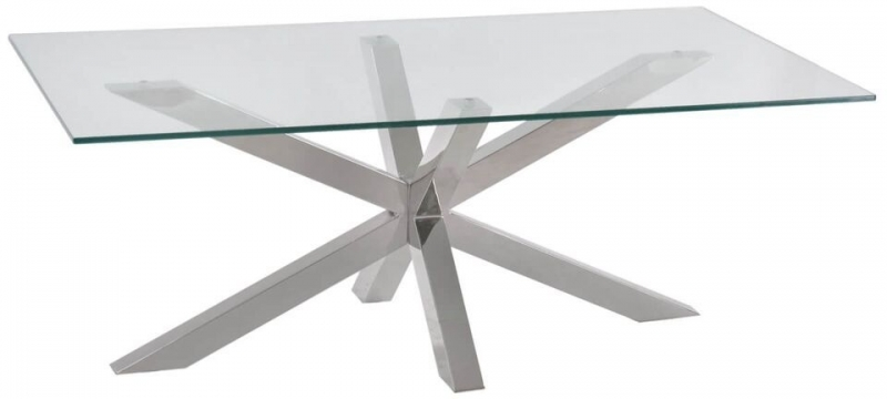 Willow Glass Coffee Table