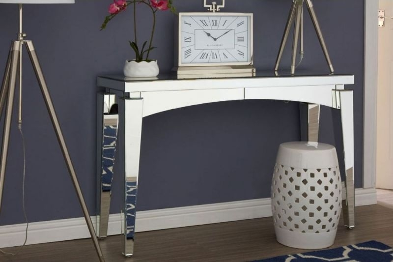 Cleveland Mirrored Console Table