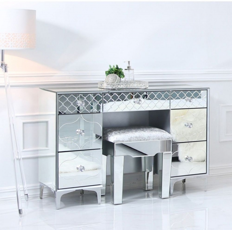 Prentice Mirrored Dressing Table