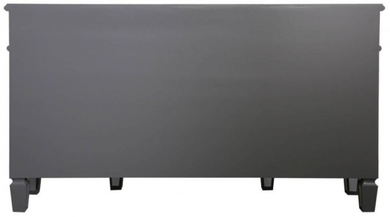 Shore Grey Mirrored Sideboard