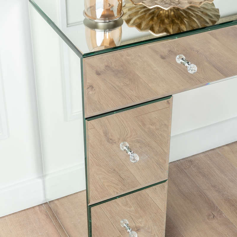 Urban Deco Chelsea Mirrored Dressing Table