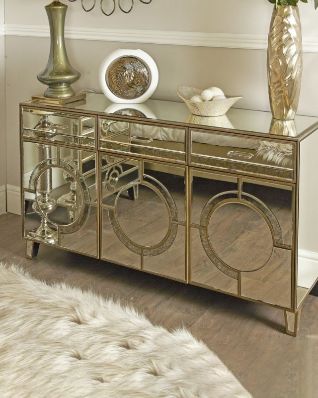 Zuo Mirrored Sideboard