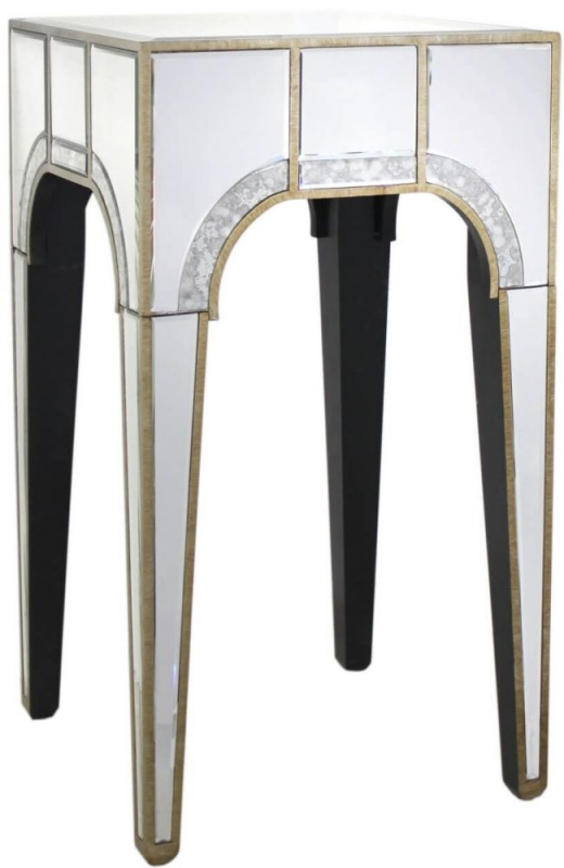 Zuo Mirrored End Table