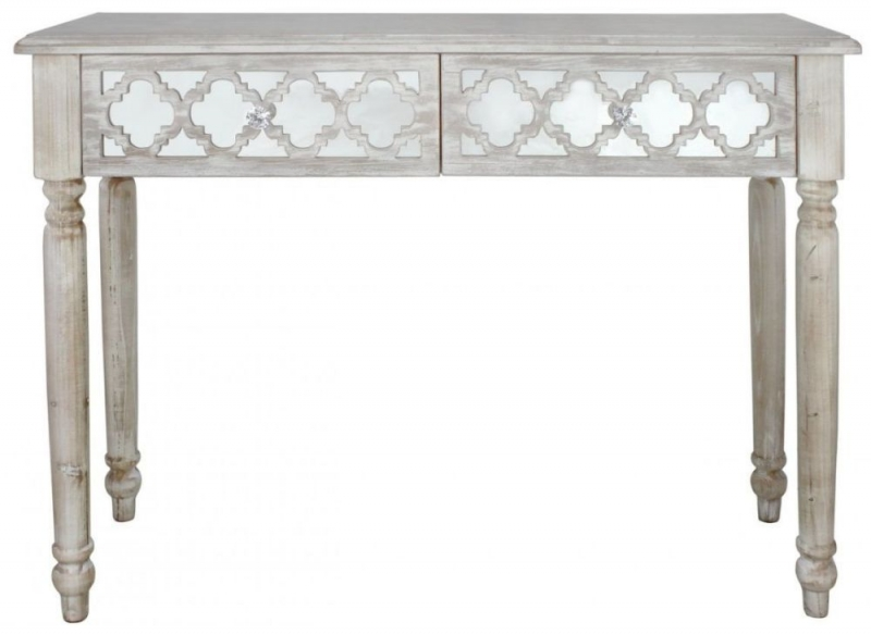 Catalina Beach Mirrored Console Table