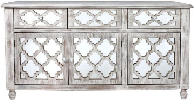 Catalina Beach Mirrored Large Cabinet