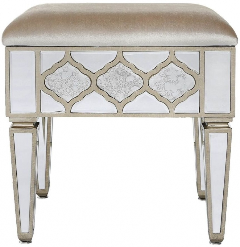 Durham Mirrored Stool