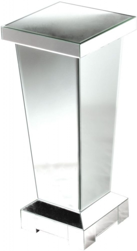 Charlotte Mirrored Pedestal