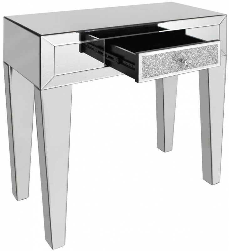 Acme Mirrored Console Table